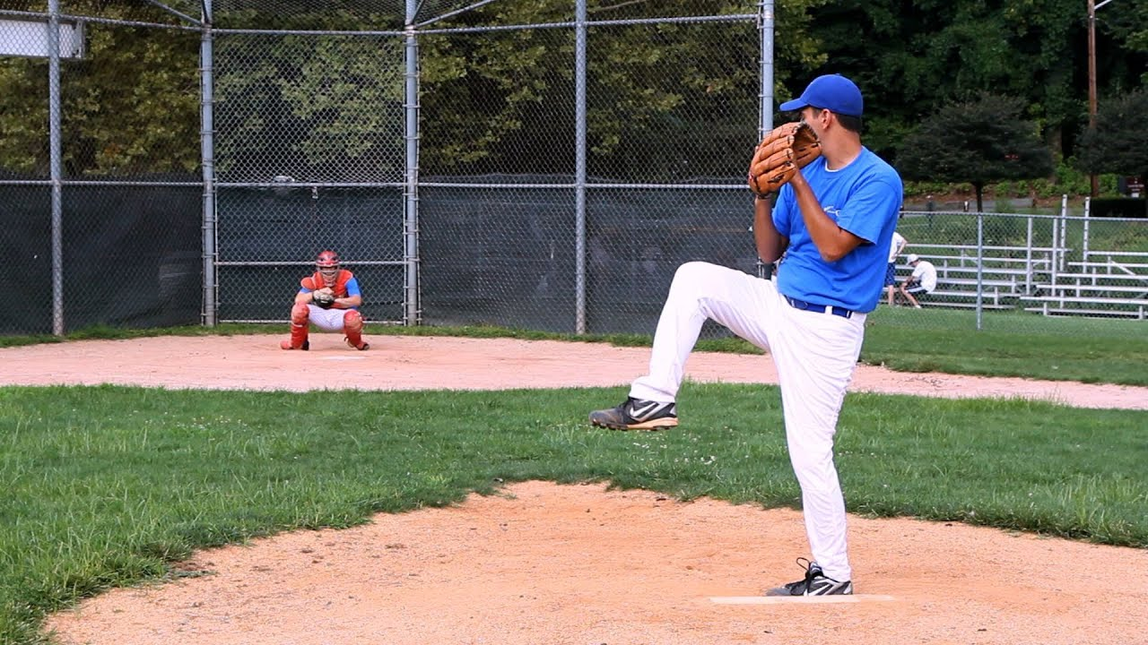 How to Pitch a Baseball   Baseball Pitching - YouTube