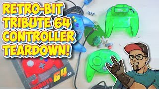 Retro-Bit Tribute 64 Hori Mini Pad Style Controller Teardown!