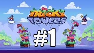 The FGN Crew Plays: Tricky Towers #1 - Tetris Revived (PC)
