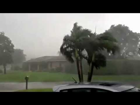 TS Isaac Second Band 9:50 am EST Coral Springs Florida