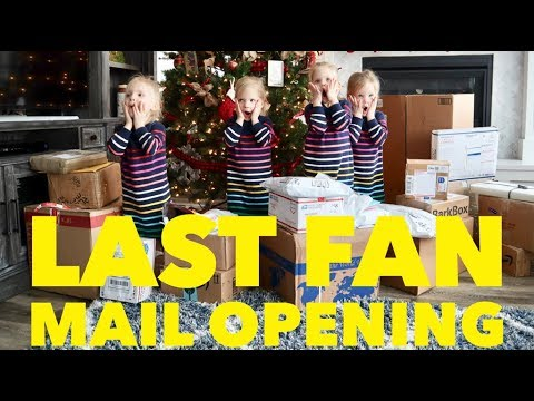 Mail On Christmas Eve 2019.Find Out Why This Is Our Last Fan Mail Vlog Christmas And Birthday What We Want From You In 2019