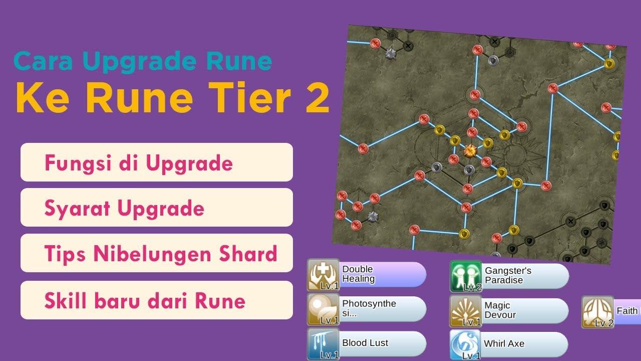 Dapet SKill Tambahan ? Cara Upgrade Tier Rune ke Rune Tier 2 - Ragnarok  Mobile Eternal Love