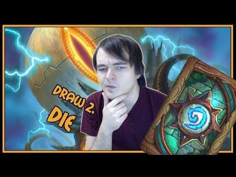 Die, draw 2 | Mecha'thun warlock | Rastakhan's Rumble | Hearthstone