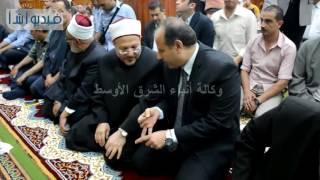 مفتى الجمهورية ومحافظ البحيرة بتوزيع الجوائز على مجموعة من حفظة القرآن الكريم