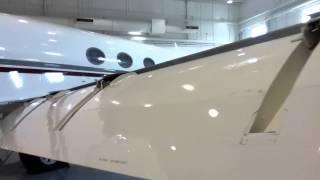 Gulfstream G-V Flaps