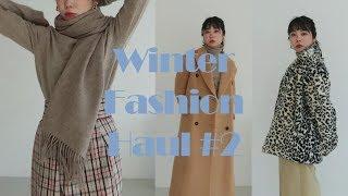 19가지 겨울 패션 하울 2탄ㅣ호피퍼, 니트, 롱코트(…