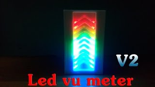 How To Make Led Vu Meter - v2 - IC LM3915