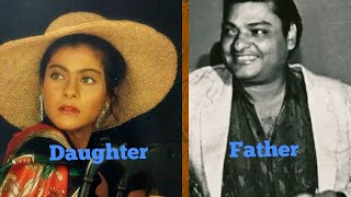 Kajol's unseen photos with her father ❤❤❤