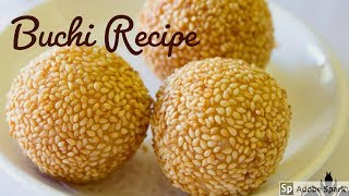 How to Make Buchi Buchi Recipe Sesame Balls