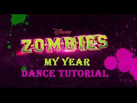 My Year Dance Tutorial   ZOMBIES   Disney...