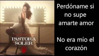 Pastora Soler - Quedate Conmigo Letra Lyrics