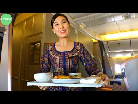 Singapore Airlines Business Class Boeing 777-300ER Manchester to Munich | Flight Experience
