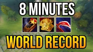 WTF FARM?! - 8 Min 3 Items Crazy Farm Brood Mother by Ramzes 7.10   Dota 2