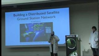 28c3: Building a Distributed Satellite Ground Station Network - A Call To Arms