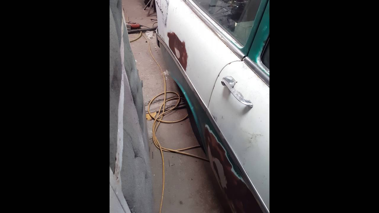 56 Chevy Wagon Air Ride Youtube Wiring