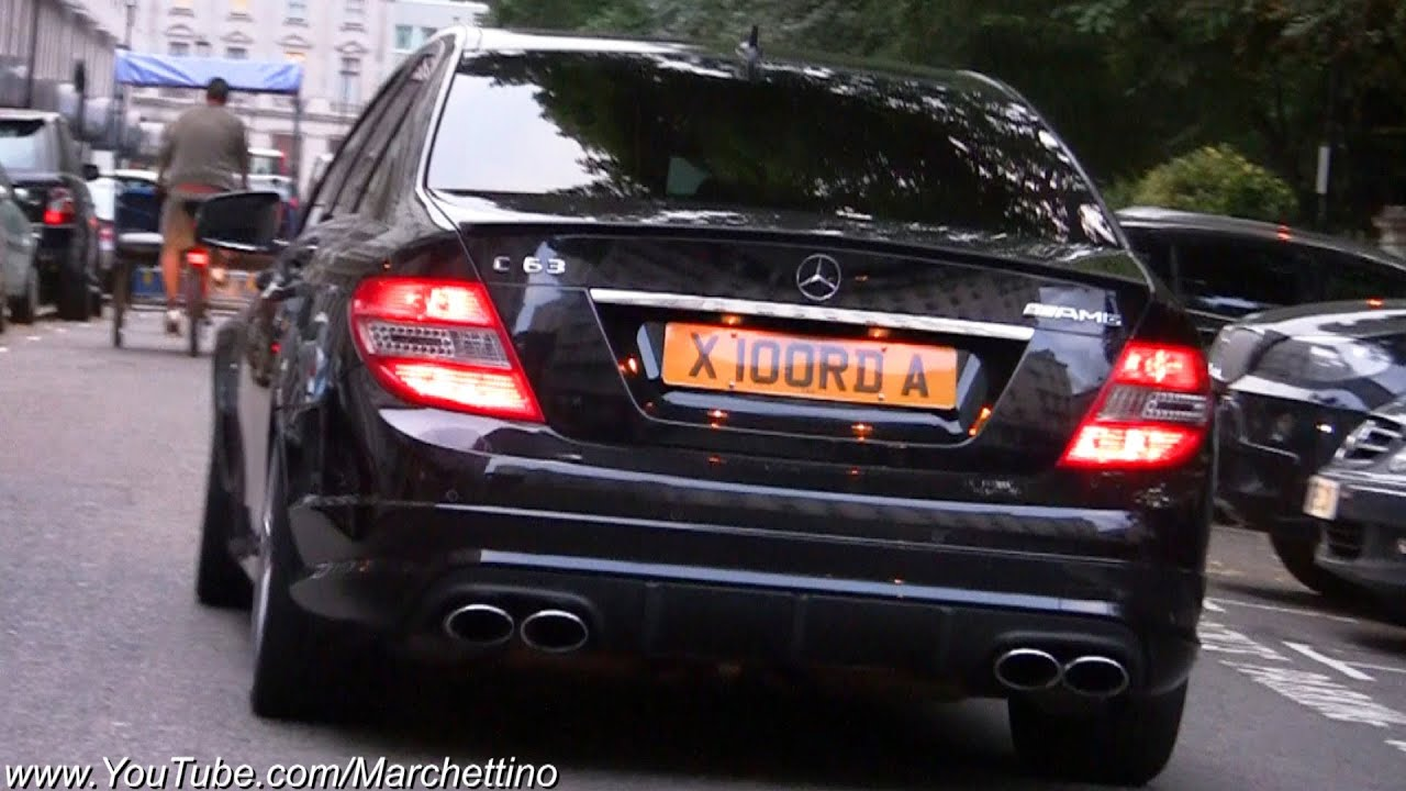 Hamann Mercedes C63 Amg Insane Sound Rev Accelerations