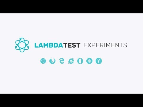 Cross Browser Compatibility Of HTML Date Property | LambdaTest Experiments