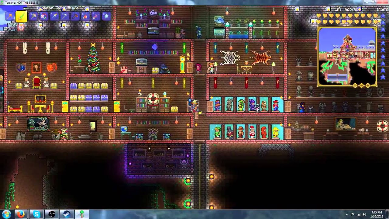 how to make a house a home in terraria