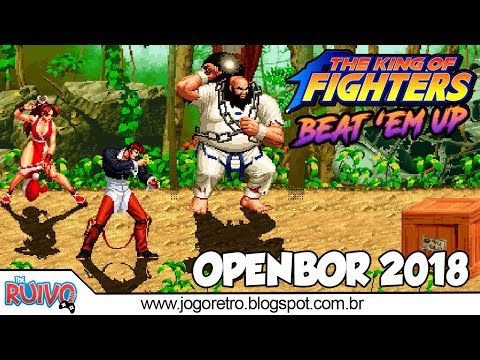 The King Of Fighters Plus (Beat 'Em UP) OpenBOR 2018