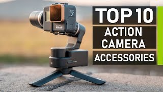 Top 10 Best Action Camera Accessories for GoPro Hero 7 & Osmo Action