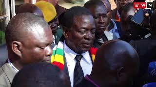Présidentielle au Zimbabwe :  Mnangagwa votes