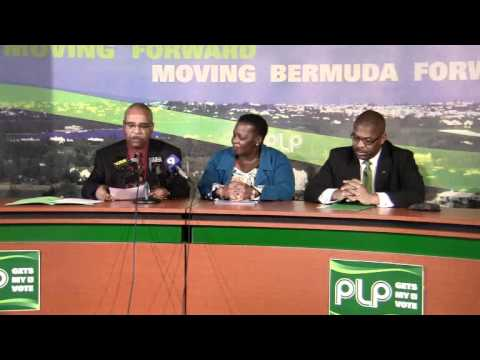 PLP Confirm Candidates Blakeney and Roban Bermuda March 28 2012