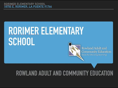 RORIMER ELEMENTARY SCHOOL