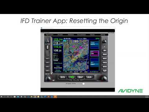 Avidyne IFD Trainer App_ Resetting the Origin