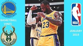BEST BASKETBALL VINES OF JANUARY 2019|#4