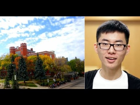 University of Alberta: Yuzhe from China talks about studying in Canada