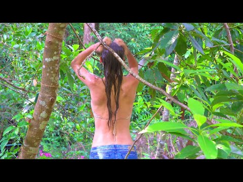 OFF GRID SHOWER IDEA (plus full demo) + 5 benefits to outdoor showers