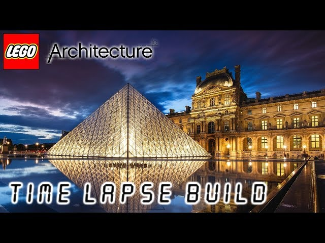 LEGO Architecture – Louvre | StupidSystemus