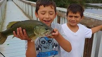 FISHING OSO FLACO LAKE- GUADALUPE CA