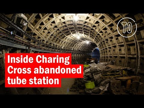 Inside the abandoned platforms at Charing Cross station | City Secrets | Time Out