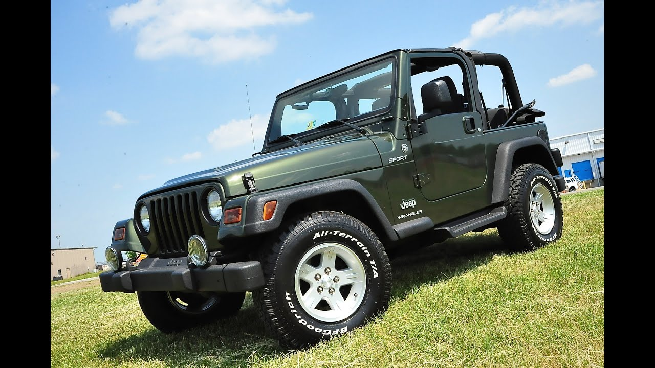 Awesome Davis AutoSports 2006 Jeep Wrangler TJ Sport For Sale 76k U0026 Modified
