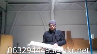 видео Промышленные светильники 50 W (светодиодные, купольного типа)