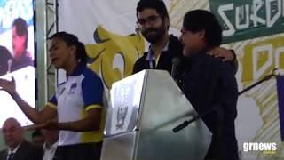 Com presença da primeira-dama do Brasil, Surdolimpíadas é aberta oficialmente em Pará de Minas