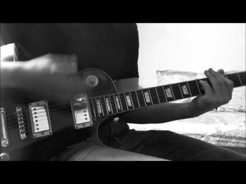 Manowar Warriors of the world guitar cover + SOLO!