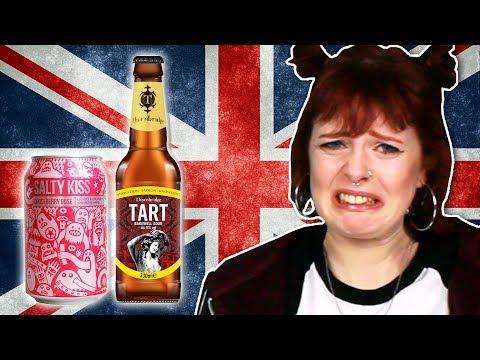Irish People Try British Beers