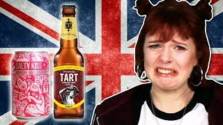 Irish People Try British Beers
