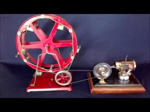 Solar 3 Flame Licker Engine & Empire 47 Ferriswheel