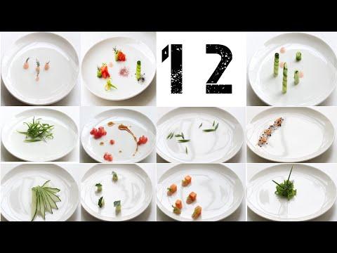 Украшения блюд (12 видов) ДЕКОР тарелки |  Decoration Of Dishes (12 Species) DECOR Plate