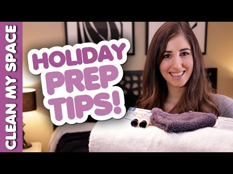 5 Time Saving Holiday Prep Tips! Quick & Easy Ways How to Prepare for the Holidays (Clean My Space)