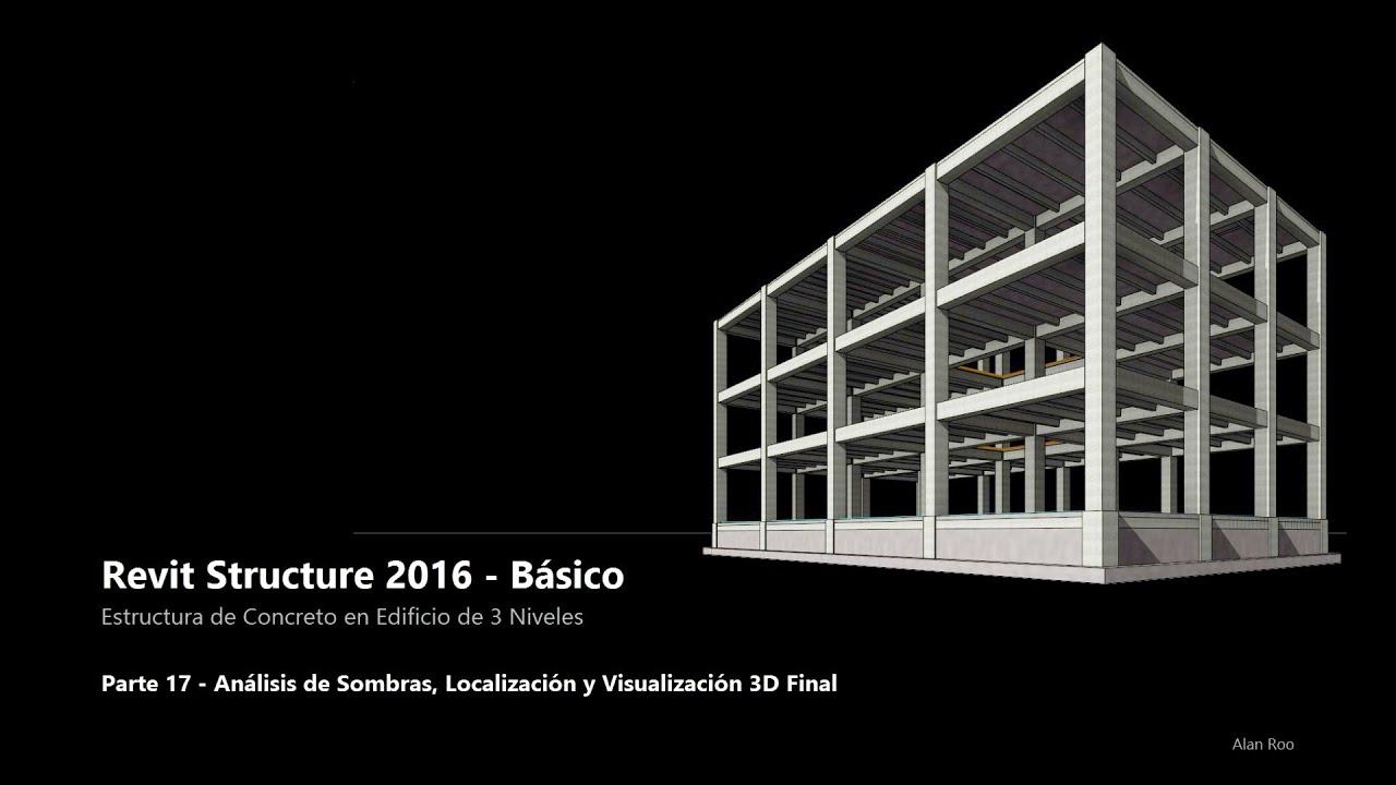 17 Revit Structure 2016 Estructura De Concreto