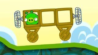 Bad Piggies #1 Плохие свинки мультик ига про машинки с мультяшными героями #МАШИНКИКИДА