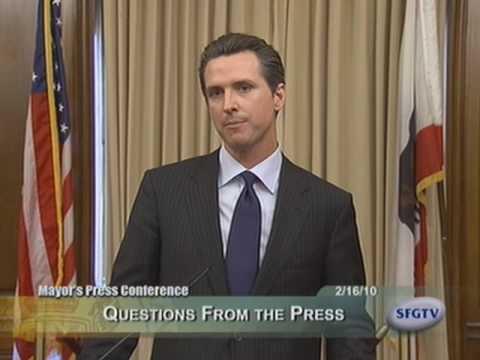 Mayor Newsom Welcomes GA-Solar to San Francisco