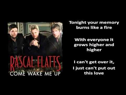 [Lyrics On Screen] Rascal Flatts - Come Wake Me Up [Rascal Flatts New 2012 Single]