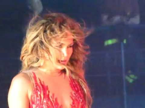 Jennifer Lopez On The Floor Live In Italy 2012 Youtube