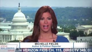 Malzberg | Michelle Fields Abruptly Ends Interview, Wrongly Denies Quote From Her Own Book
