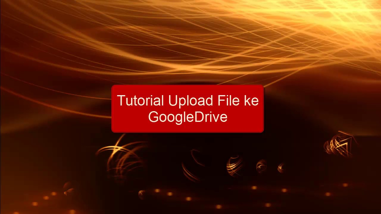 how to upload google drive video to youtube